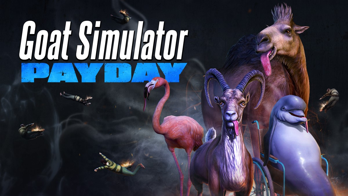 Goat Simulator PAYDAY now available for iOS and Android