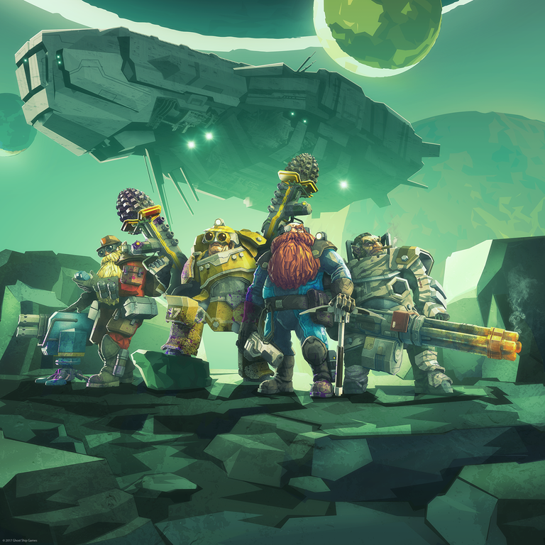 Deep Rock Galactic Early Access and Game Preview on February 28th